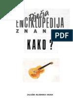 Dječija enciklopedija znanja - KAKO