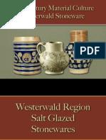Drinking - German Westerwald Stoneware