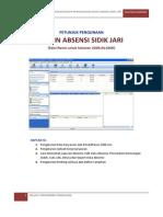Manual Book Mesin Absen-libre