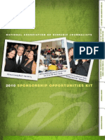 2010 NAHJ Sponsorship Opportunities Kit