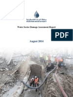 Water Sector Damage Assessment 2014