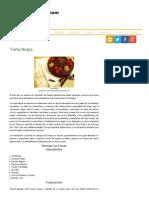 Torta Negra - Venezuela Tuya