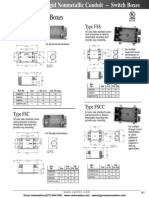 FS Boxes Conduit and Accessories Brochure
