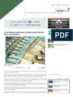 Las Medidas Cambiarias y Fiscales Serán Clave en 2015_ Economistas