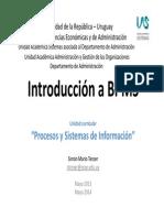 1 Guía de Clase 14-2014 - Láminas de Introducción a BPMS. El Texto Verlo en Biblioteca Lecturas Obligatorias