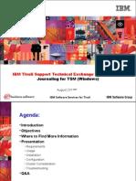 2007 08 23 STE Journal Based Backup (TSM)