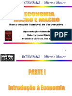 Transparências - ECONOMIA Micro e Macro - Parte I