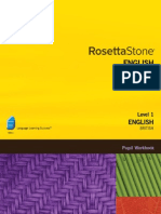 Rosetta Stone English British Level 1 Pupil Workbook