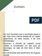 Emil Durkhein - Fatos Sociais