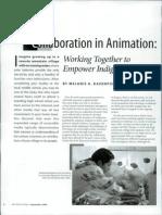 Collaboration Iin Animation