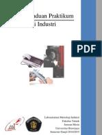 Buku Panduan Praktikum Metrologi Industri Ganjil 2014 2015