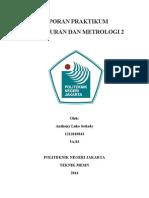 Cover Laporan Praktikum Pengukuran Dan Metrologi 2