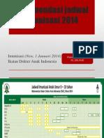 Rekomendasi Imunisasi 2014