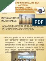 Consumo Eléctrico en El Aeropuerto de Chicheros