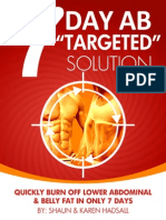 7 Day Ab Targeted Solution
