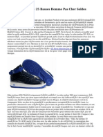 Nike Air Force One 25 Basses Homme Pas Cher Soldes EA6895