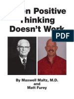 When Positive Thinking Doesnt Work