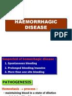(14) Hemorrhagic Disease