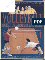 Volleyball- Rules- Tips- Strategy- And Safety Por Sandra Giddens-Owen Giddens