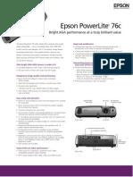 EpsonPowerLite76c_CatSheet