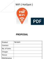 Proposal TM WiFi