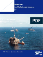 UKOOA Guidelines for Ship Installation Collision Avoidance