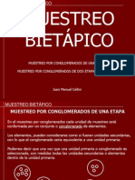 Biometria Forestal - Practico 12 -Muestreo Bietapico