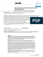 The Association Between Alcohol Use, Alcohol Use Disorders and Tuberculosis (TB). a Systematic Review