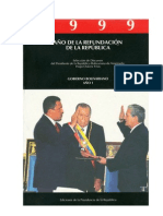 CHAVEZ H - Discursos 1999