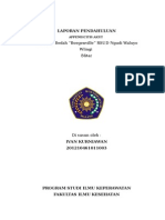 LAPORAN PENDAHULUAN apendiktomy