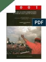 CHAVEZ H - Discursos 2001