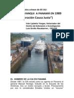 Invasion de Eeuu a Panama