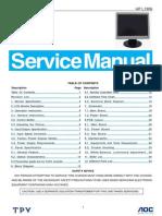 Hp Aoc Service Manual-hp l1906 Gm2621 a00