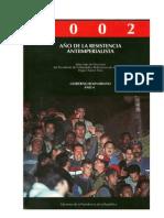 CHAVEZ H - Discursos 2002