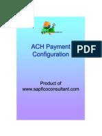 SAP ACH Configuration