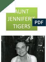 Ppt on Aunt Jennifer's Tigers