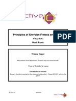 A-600-9017 _Principles of Exercise Fitness and Health_ Mock Paper