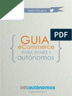 Guía de Comercio Electróіnico Para Pymes y Autóіnomos