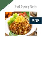 Membuat Nasi Goreng Sosis