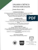 Diccionario Crítico de Ciencias Sociales_Hermenéutica