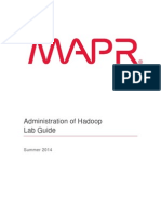 Administration of Hadoop Summer 2014 Lab Guide v3.1