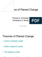 The Nature of Planed Change