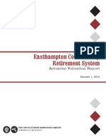 Easthampton Contributory Retirement System Actuarial Valuation Report 2014