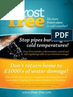 Frostfree Brochure