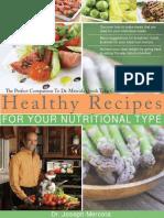 Healthy Recipes Web