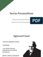 Teorías Psicoanalíticas, Desarrollo de la personalidad