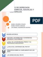 Pacto de Derechos Economicos, Sociales y Culturales