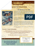Norwood Antiques Newsletter December 2014 Edition