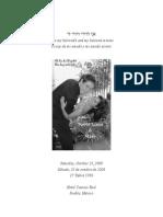 Our Jewish Wedding Program in English & Spanish for Sharing