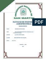 Analisis Microbiologico Del Agua